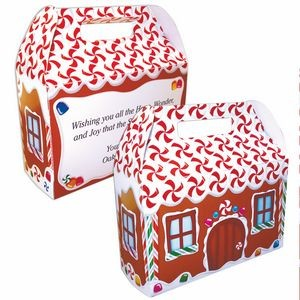 Gingerbread House Donut Box